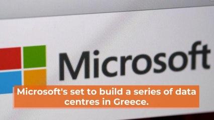Microsoft Goes To Greece