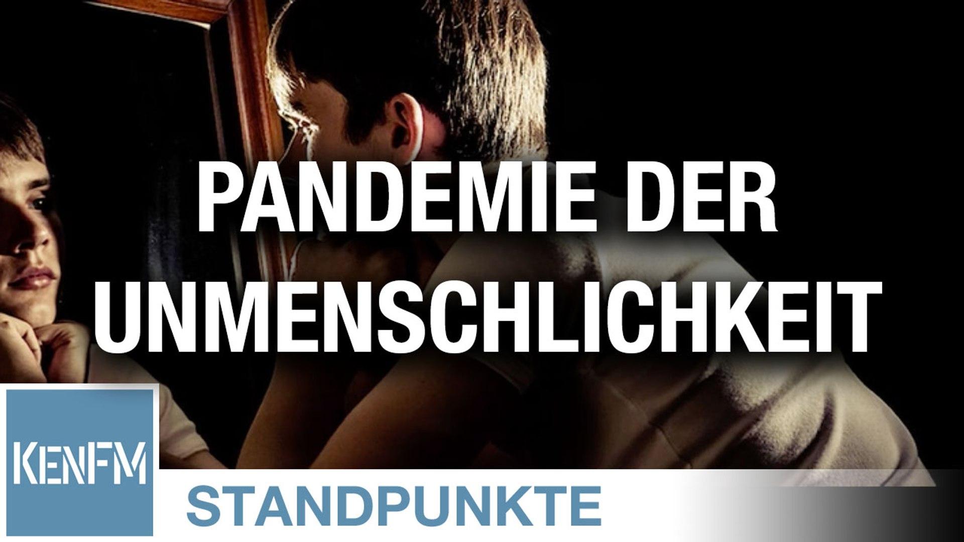 Pandemie der Unmenschlichkeit – Plädoyer für eine Menschlichkeit mit Ich-Substanz   Von Franz Rupper
