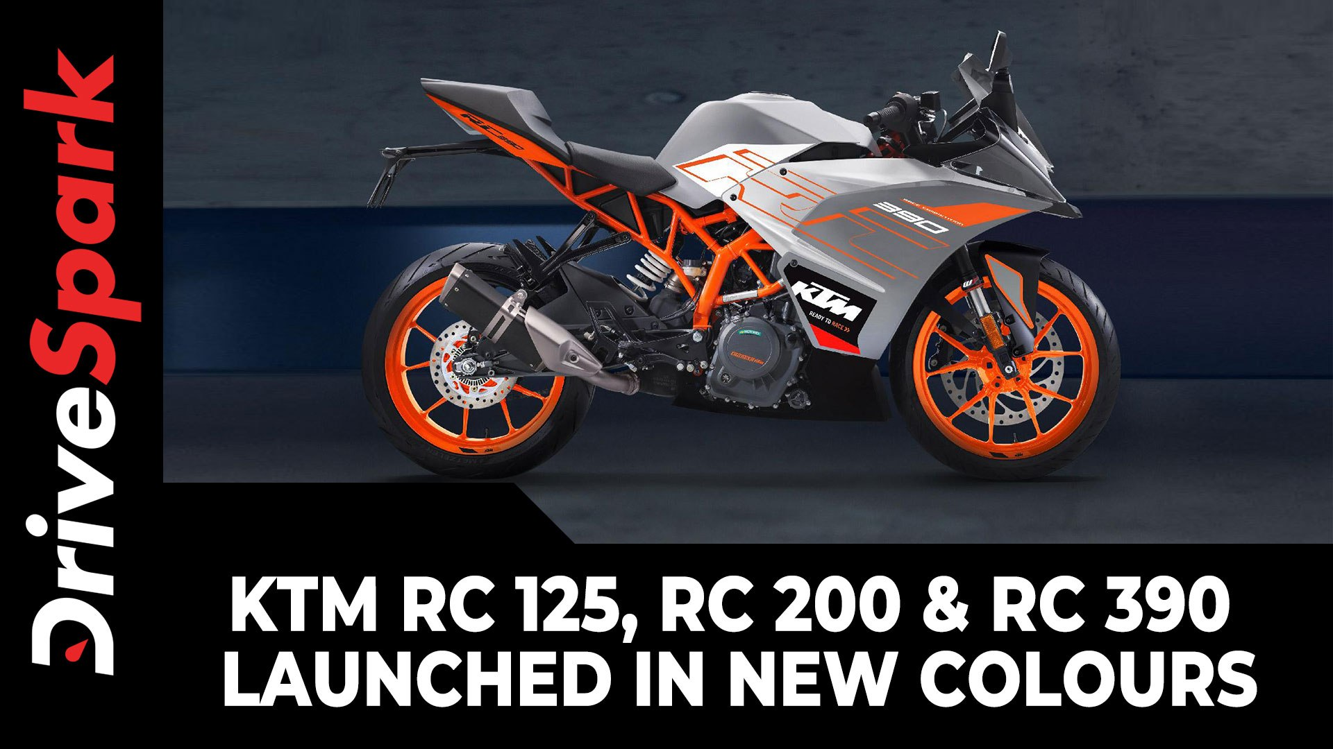 Ktm Rc 125 Rc 200 Rc 390 Launched In New Colours Price Other Details Video Dailymotion