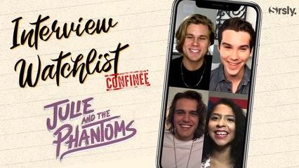 JULIE AND THE PHANTOMS : La Watchlist du casting