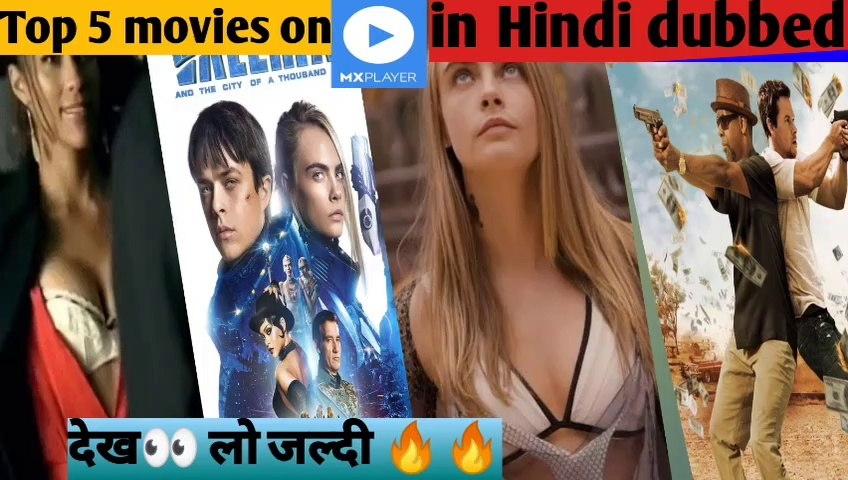 Hollywood top5 movies  on MX player|| top5 action movies on MX player|| top5 sci-fi movies on MX player