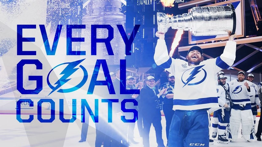 Every Lightning goal scored en route to Cup Final win