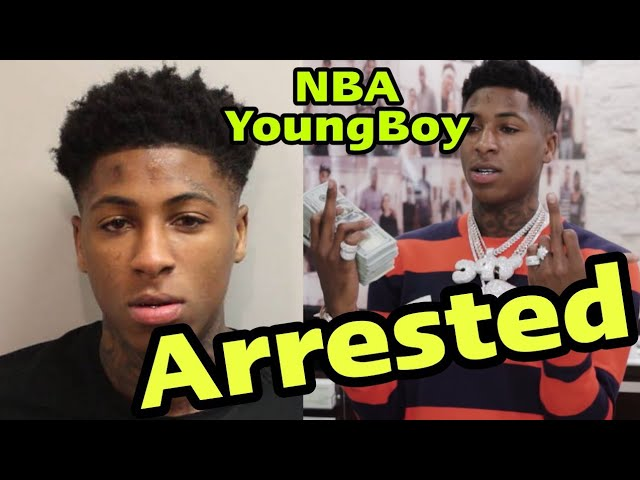 Breaking News – NBA YoungBoy Arrested