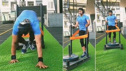 आकाश ठोसर सोबत Gym Workout सेशन
