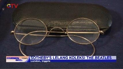 50 Tahun Bubarnya The Beatles, Kacamata John Lennon Dilelang 40 Ribu Poundsterling