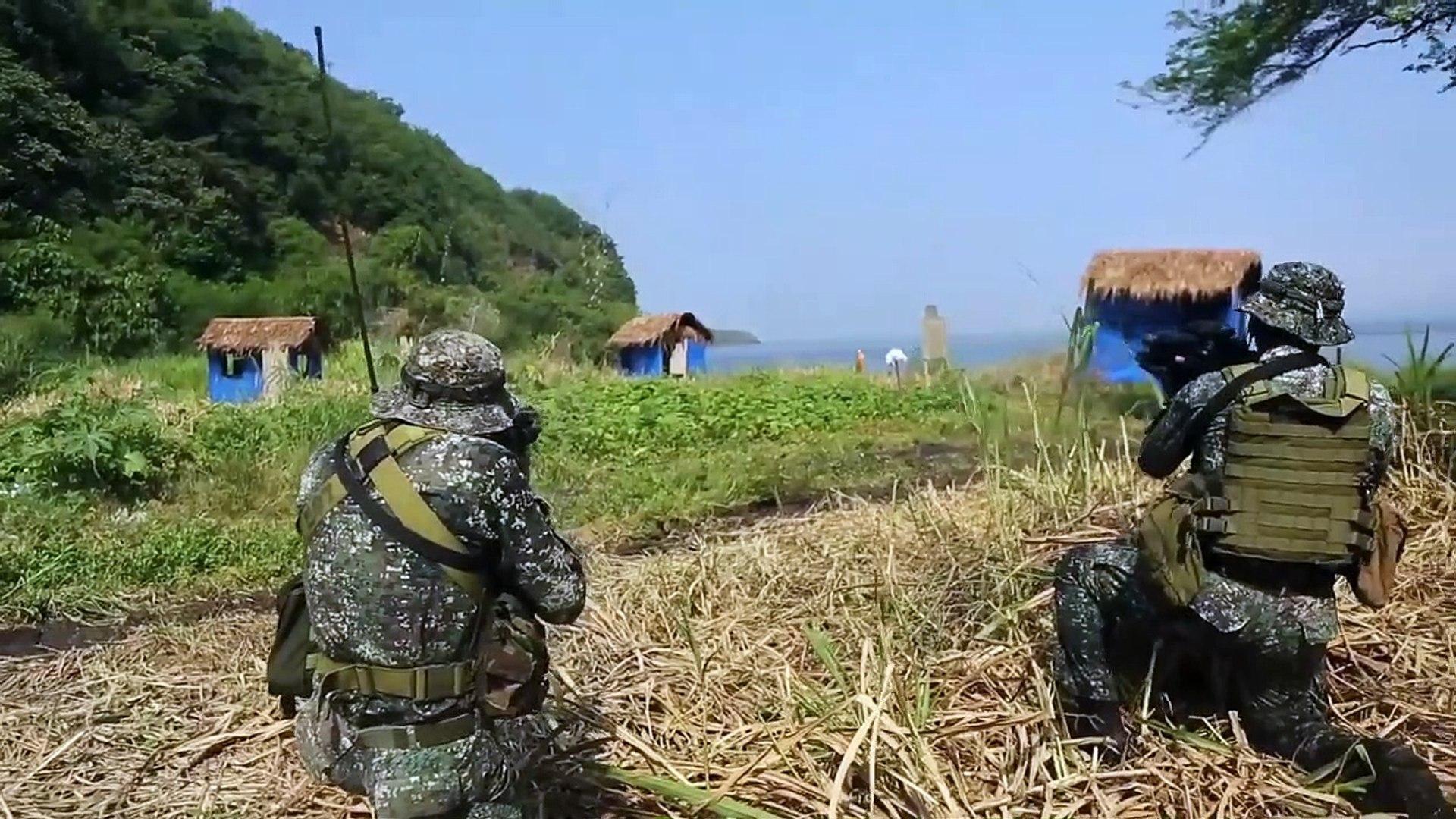 U.S. & Philippine • Recon Marines • Live-Fire Amphibious Raid • Cavite, Ternate, Philippines