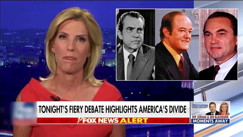 #NEWS   Tonight's fiery debate highlights America's divide