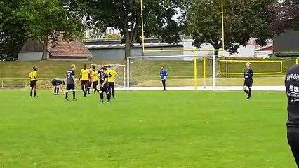 Tor durch Antonio de Agustin Romo für die SVG IV im Derby bei Göttingen 05