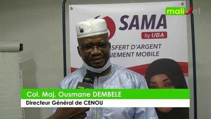 Reportage : Visite du Directeur Général de CENOU à SAMA Money