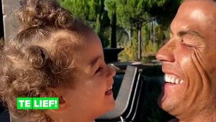 Cristiano Ronaldo speelt met zijn 3-jarige en dit is het schattigste dat je vandaag zult zien