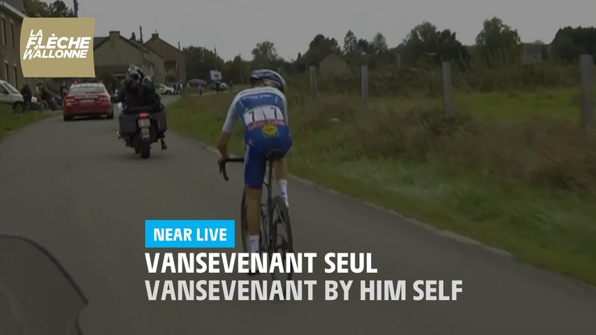 La Flèche Wallonne 2020 - Vansevenant seul / Vansevenant by him self