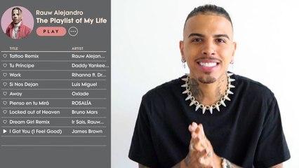 Rauw Alejandro Creates the Playlist of His Life