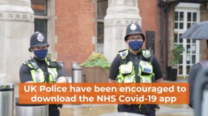 UK Police And The Covid-19 App