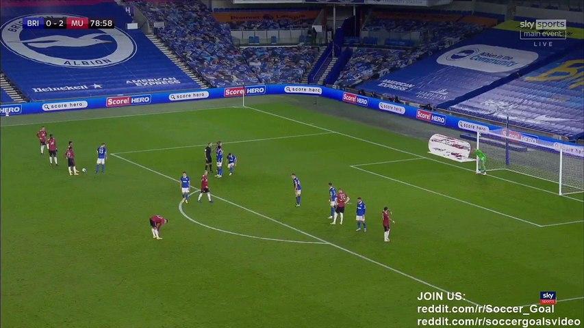 Paul Pogba Goal HD - Brighton 0 - 3 Manchester United - 30.09.2020 (Full Replay)