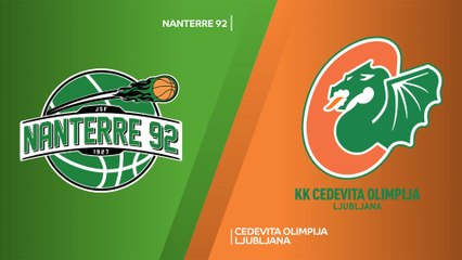 7Days EuroCup Highlights Regular Season, Round 1: Nanterre 80-76 Olimpija