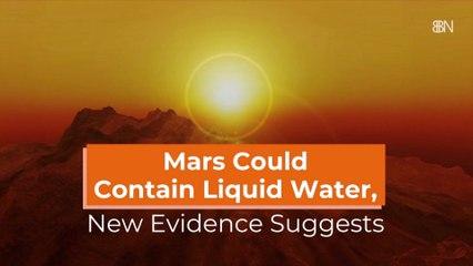 Where Is The Liquid On Mars