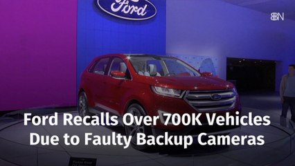 Ford Has Backup Camera Troubles