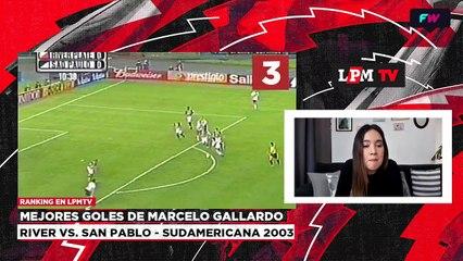 Ranking : mejores goles de Marcelo Gallardo en River
