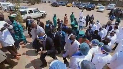 Gécamines: le DG Sama Lukonde lance des actions sociales