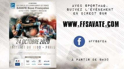 FINALES 2020 : Championnats de France SAVATE boxe française Elite A & Juniors - Teaser