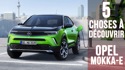 Opel Mokka-e, 5 choses à savoir sur le SUV 100% électrique