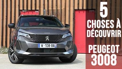 Nouveau Peugeot 3008,  5 changements à découvrir !