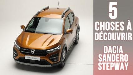 Nouvelle Dacia Sandero Stepway, 5 changements à découvrir !