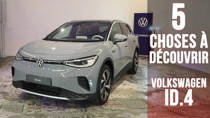 Volkswagen ID.4, 5 choses à connaitre sur le SUV 100% électrique