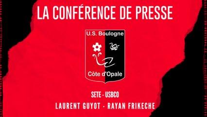 [NATIONAL] J8 Conférence de presse avant match Sète - USBCO