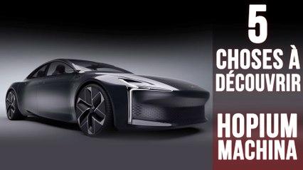 Hopium Machina, 5 choses à découvrir sur le futur modèle à hydrogène français