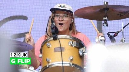 Australische-artiest G Flip bewijst dat drummers ook popsterren kunnen zijn