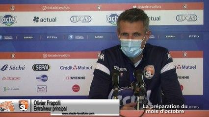 (J08) Laval vs Red Star, avant-match avec O.Frapolli