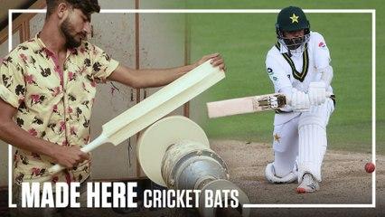 How Cricket Bats are Made   MADE HERE   Popular Mechanics