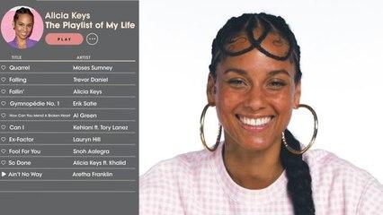 Alicia Keys Creates the Playlist of Her Life
