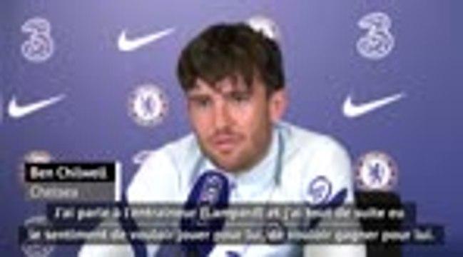 """Chelsea - Chilwell : """"Je suis d'abord venu pour Lampard"""""""