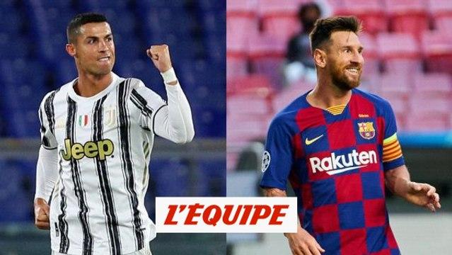 Pour Cristiano Ronaldo et Lionel Messi, c'est l'heure des retrouvailles - Foot - C1
