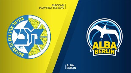 EuroLeague 2020-21 Highlights Regular Season Round 1 video: Maccabi 80-73 ALBA