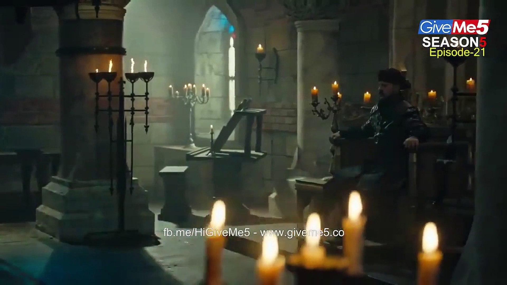 Dirilis Ertugrul Ghazi Season 5 in Urdu Subtitle Episode 21 & 22