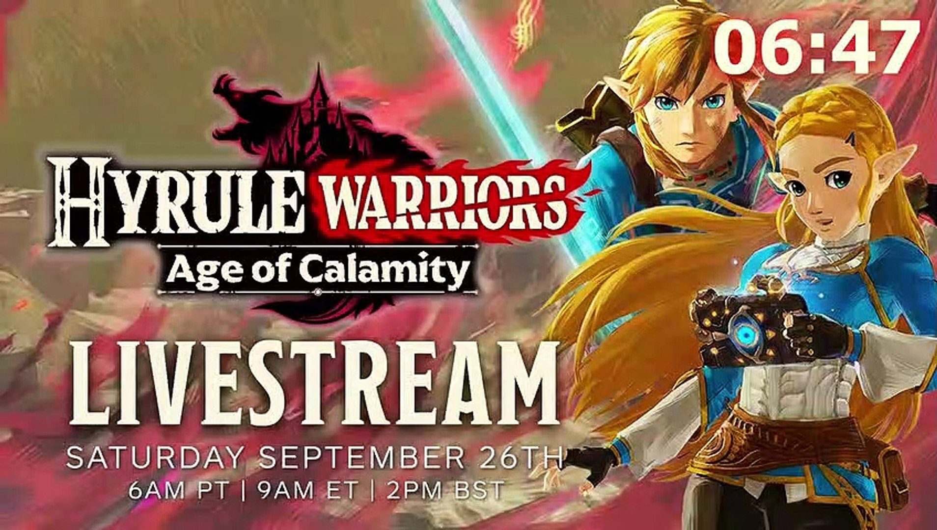 Hyrule Warriors Age Of Calamity Gameplay Tgs 2020 Japanese Video Dailymotion