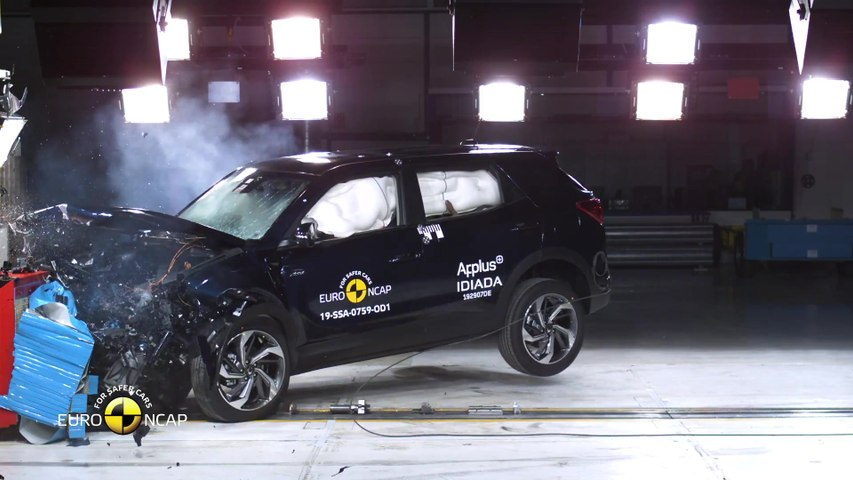 New SsangYong Korando - EuroNCAP Crash test