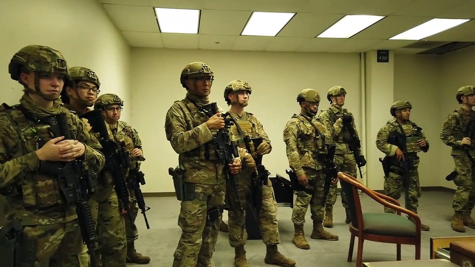 Eyes on Target • Robins Security Forces • Train in active Shooter Drill • 24 Sep 2020