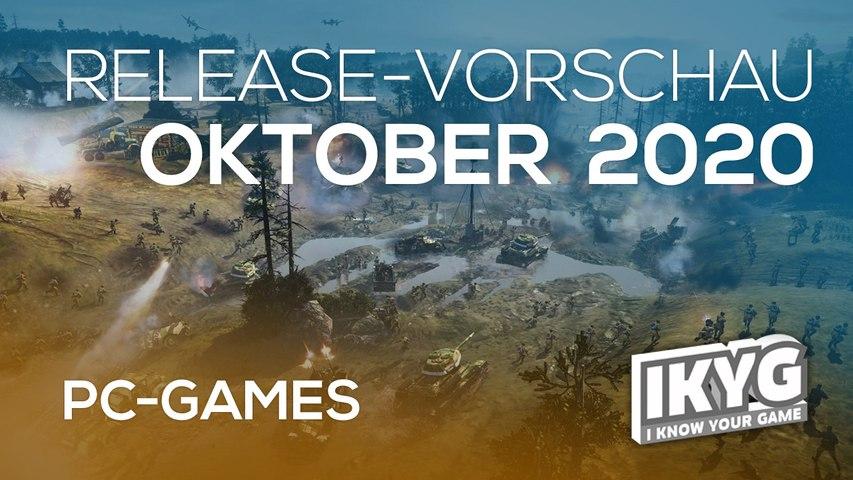 Games-Release-Vorschau - Oktober 2020 - PC