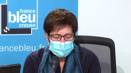 Marie-Françoise Fournier, maire de Guéret