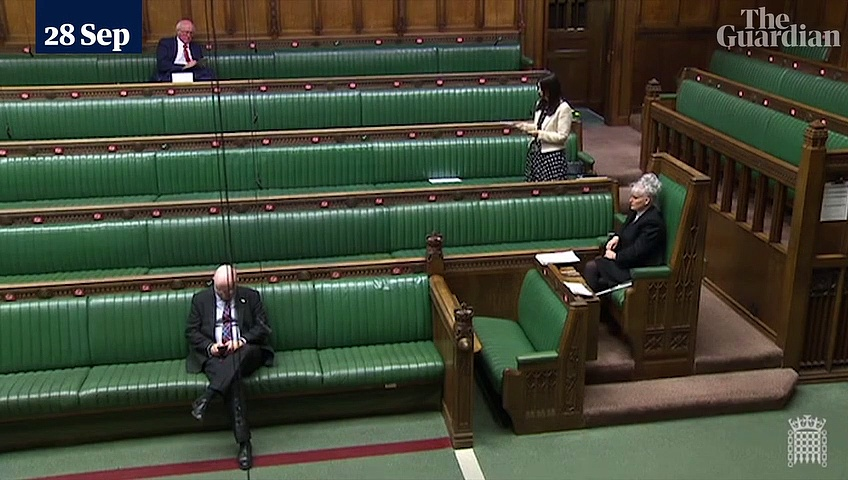 Margaret Ferrier addresses parliament on Covid after developing symptoms