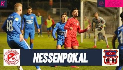 Markus Auer überragend: SG Rot-Weiss Frankfurt - Türk Gücü Friedberg (1. Runde, Hessenpokal)