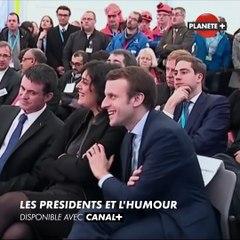 LES PRESIDENTS ET L'HUMOUR / PLANÈTE+