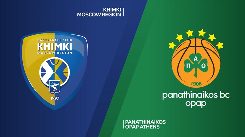 Khimki Moscow Region - Panathinaikos OPAP Athens Highlights | Turkish Airlines EuroLeague, RS Round 1