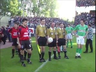 31/05/95 : Sylvain Wiltord (41') : Rennes - Saint-Étienne (2-2)