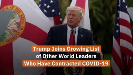 The Leaders With COVID-19