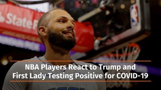 NBA Players After Trump Tests Positive